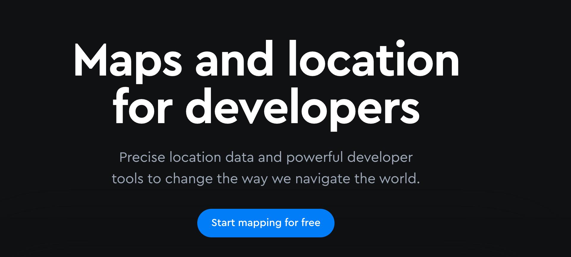 最近一直在研究 google map,有朋友推荐这个