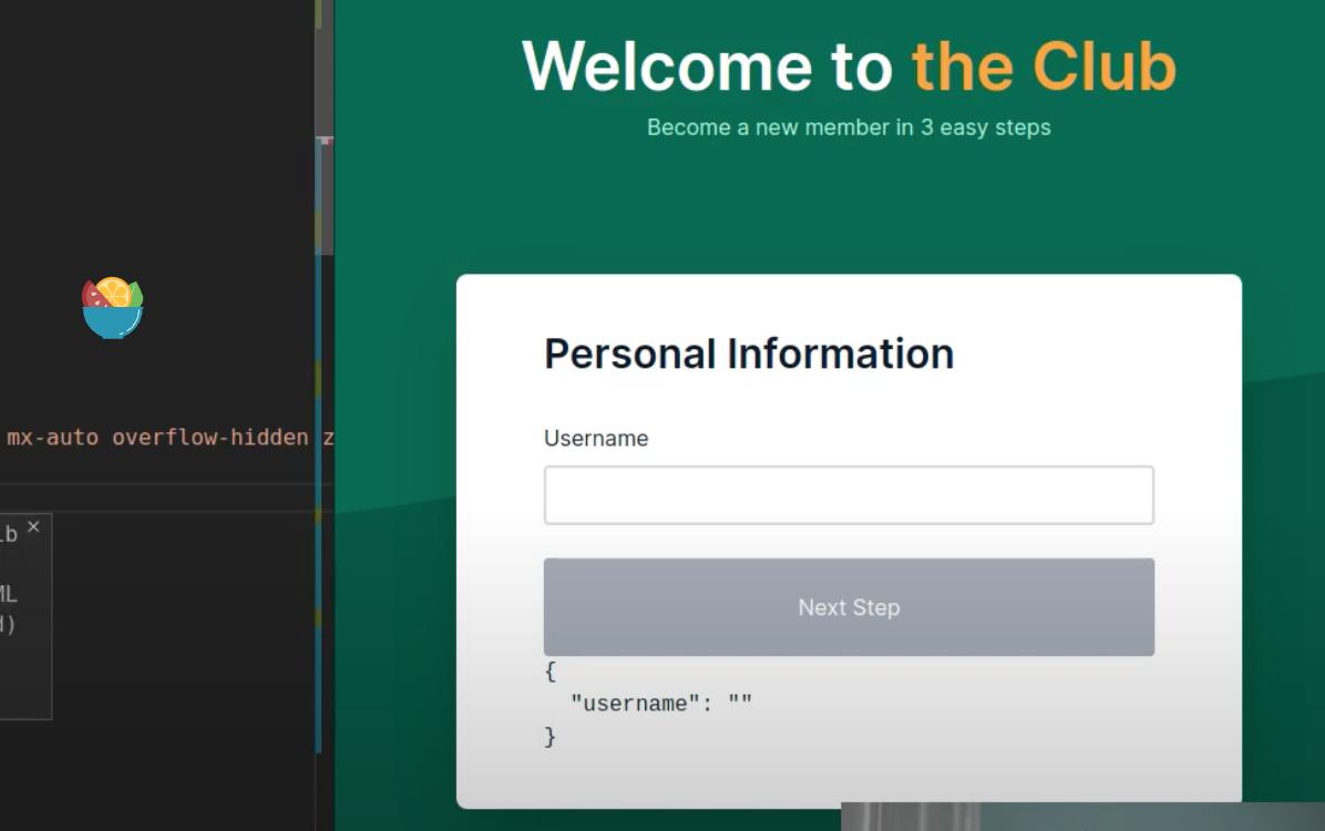 React hook form & typescript 实现的多步表单代码下载