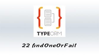 #22 findOne 与 findOneOrFail 的区别 & 如何给验证器传递参数