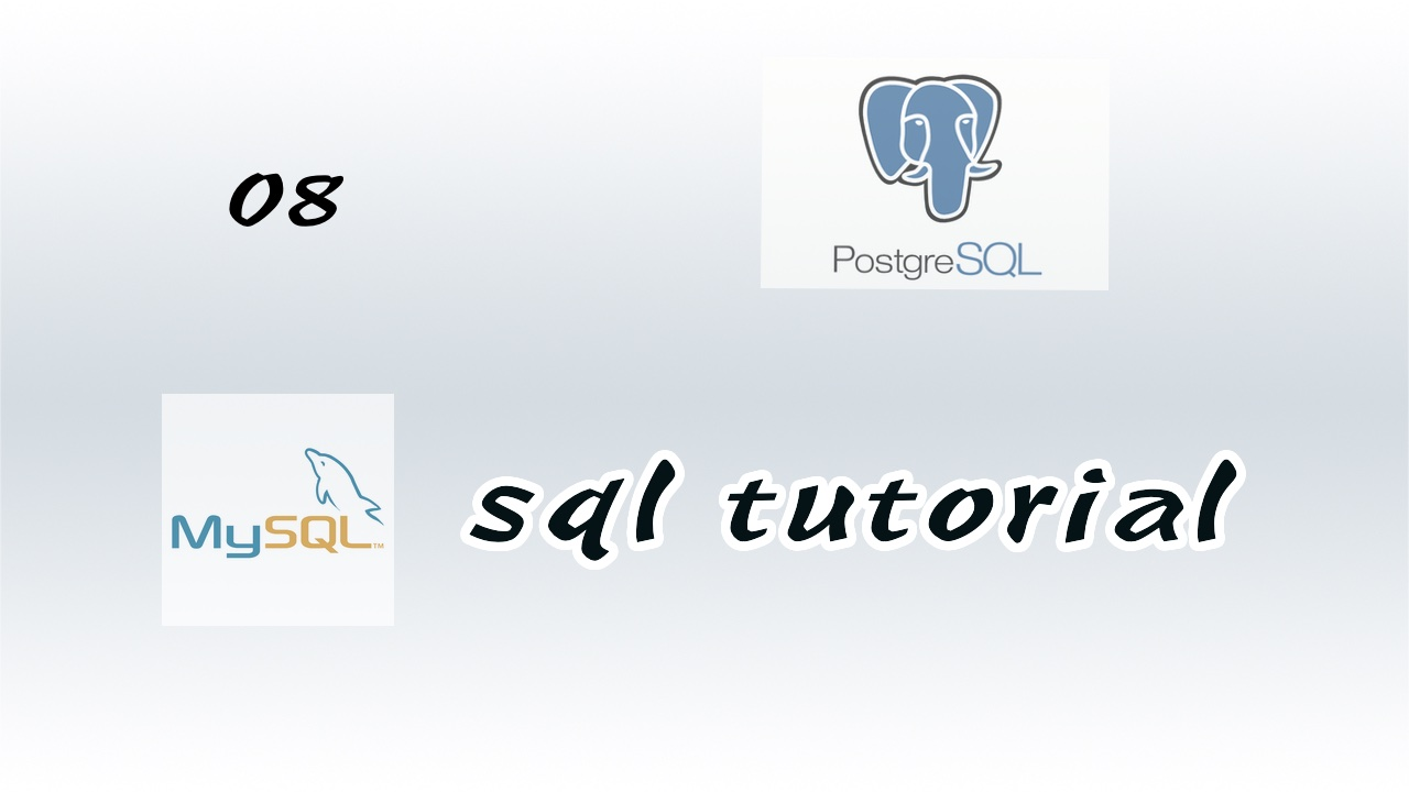 #8 PostgreSQL 中创建数据库