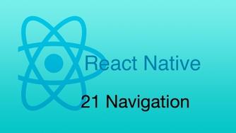 #21 React Native Navigation