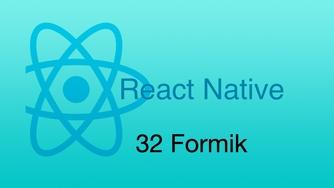 #32 表单 - Formik - part 1