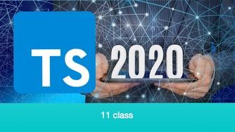 TypeScript 基础教程 2020 年重制版视频 #11 面向对象 - class