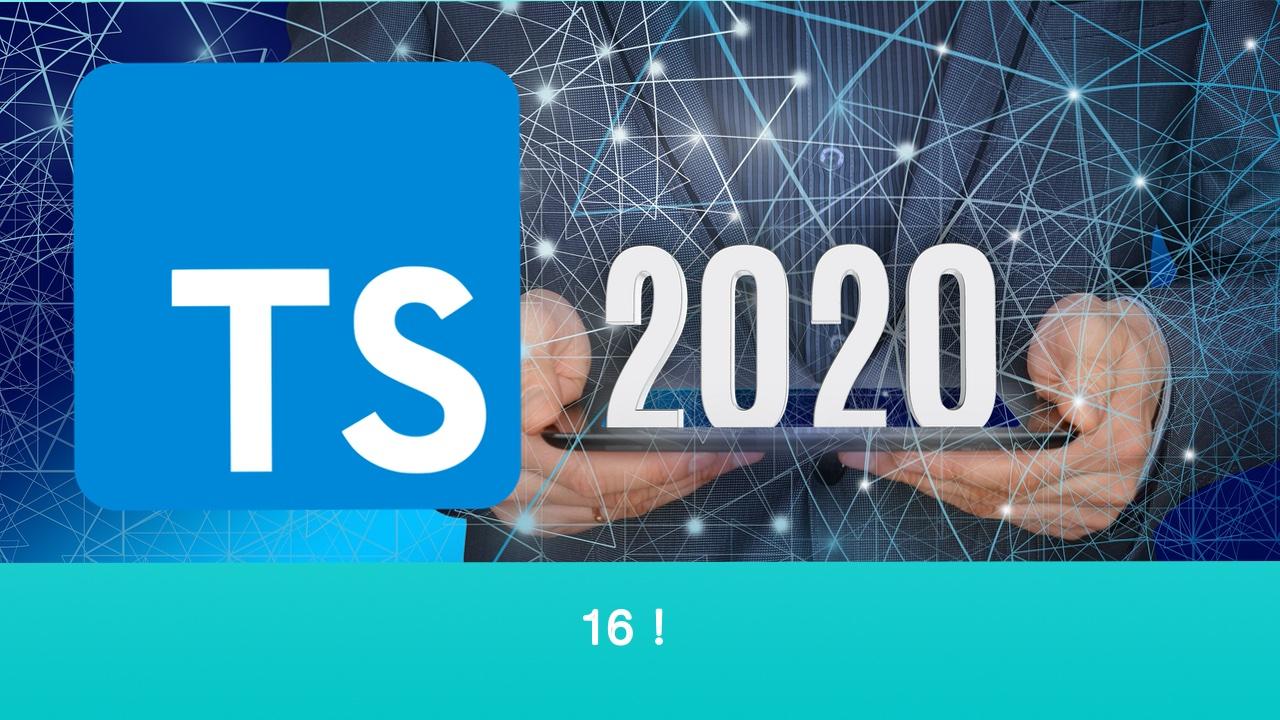 TypeScript 基础教程 2020 年重制版视频 #16 非空断言操作符 !