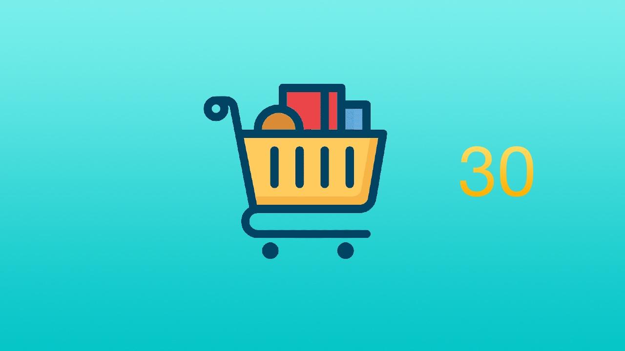 React + Redux + Express + Mongodb 零基础开发完整大型商城网站视频教程 #30 第五部分 - 购物车 - 处理商品数量