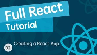 React & React Hook & React Router 基础入门实战视频教程 02 创建 React 项目并了解项目源码