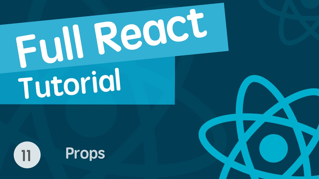 React & React Hook & React Router 基础入门实战视频教程 11 Props & 重用组件