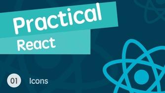 React 进阶之组件实战视频教程 01 超级简单好用的 Icons 组件库