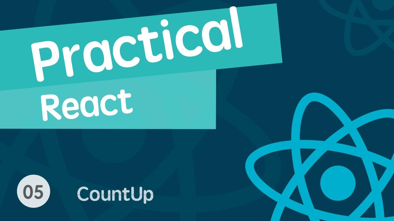 React 进阶之组件实战视频教程 05 countup