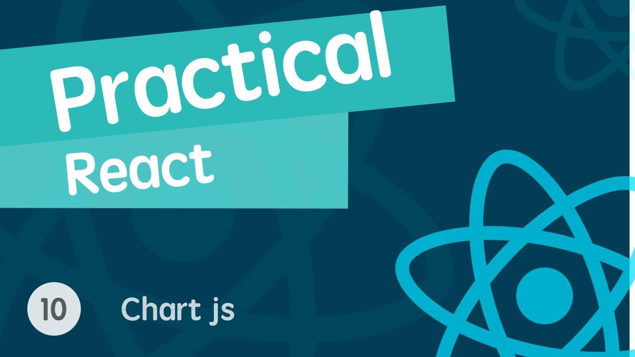 React 进阶之组件实战视频教程 10 使用 chartjs 的正确方法