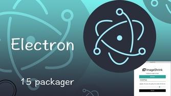 Electron 从入门到实战图片压缩软件视频教程 15 打包收工