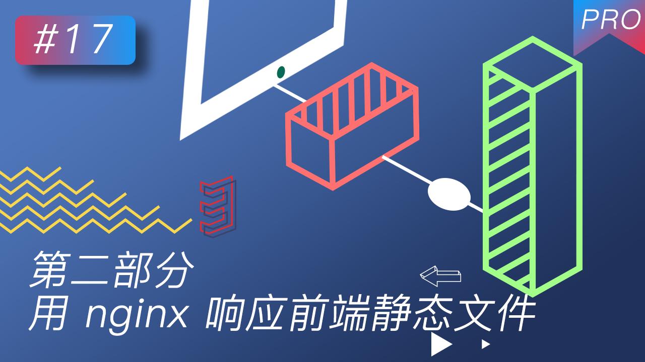 线上服务器部署(前后端) #17 第二部分 用 nginx 响应前端静态文件