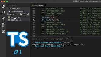 TypeScript + Node.js 实战 GitHub API #1 项目搭建