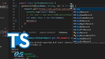 TypeScript + Node.js 实战 GitHub API #5 使用回调函数(今天第四更)