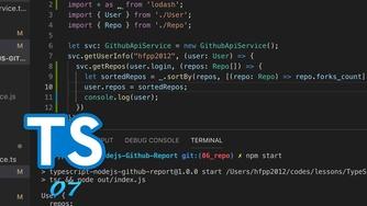TypeScript + Node.js 实战 GitHub API #7 组合回调函数和使用 lodash 进行数组的排序