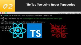 TypeScript 结合 React 写三连棋游戏 #2 学习资源介绍与项目搭建