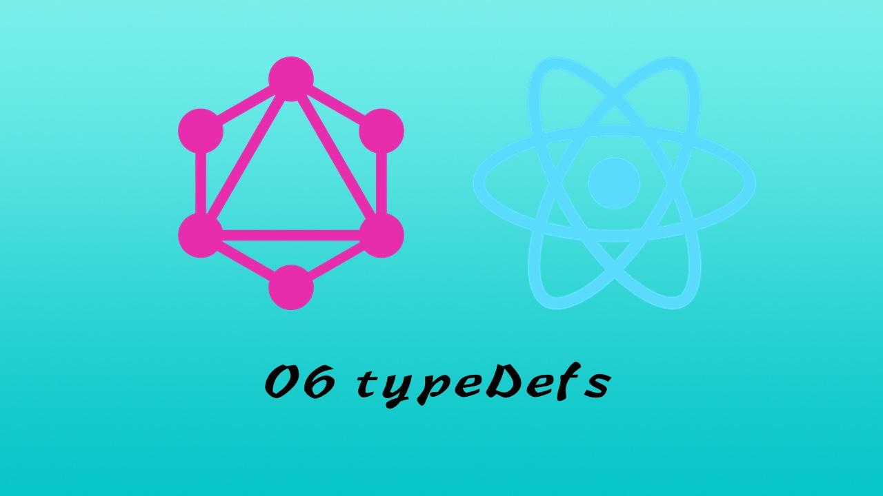 GraphQL + React Apollo + React Hook + Express + MongoDB 大型前后端分离项目实战之后端 #6 定义 typeDefs 并读取远程数据库的内容