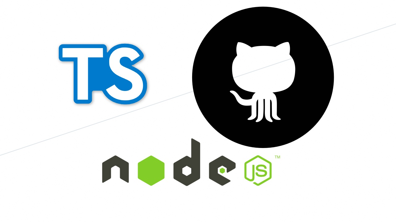 TypeScript + Nodejs 实战 Github API 免费视频教程